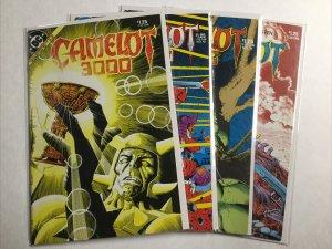 Camelot 3000 9-12 9 10 11 12 Lot Set Run Nm- Near Mint- 9.2 Dc Comics