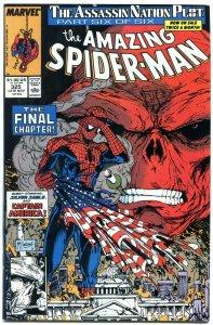 AMAZING SPIDER-MAN #325 1989-MARVEL COMICS-MCFARLANE NM-