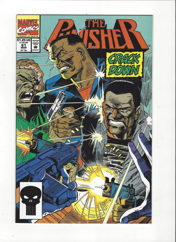 The Punisher #61 (1987)  Luke Cage Marvel Comics NM