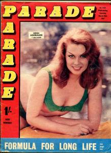 Parade 3/25/1967-British exploitation mag-cheesecake-Heidi Adenauer-VG