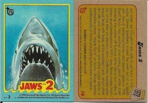 2013 Topps 75th Anniversary #70 Jaws 2 > Sherriff Brody > 1978