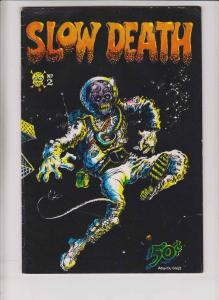Slow Death #2 FN- (3rd) print RICHARD CORBEN dave sheridan JAXON last gasp