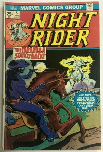 NIGHT RIDER#5 FN 1975 MARVEL BRONZE AGE COMICS