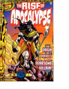 Lot Of 2 Marvel Comic Book Rise of Apocalypse #1 and Plasmer #1 KS11