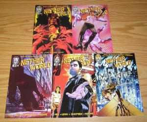 Heroes and Villains Presents Netherworld #1-5 VF/NM complete series - horror set