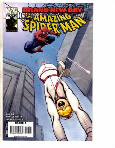 6 Amazing Spider-Man Marvel Comic Books # 559 560 561 562 563 564 NM Range J268