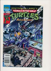 TMNT Teenage Mutant Ninja Turtles Adv. #8 1989 ~  F/VF (PF568) Newsstand Edition