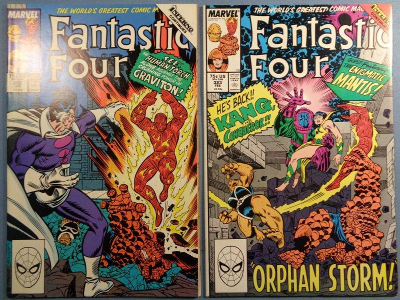 Fantastic Four Lot #300-324 Complete Run Dr Doom