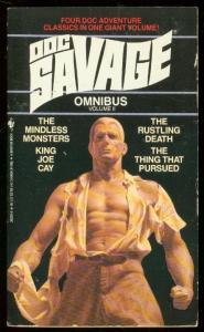 DOC SAVAGE OMNIBUS #2-PULP REPRINT PAPERBACK-4 STORIES! VF
