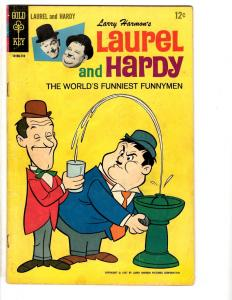 Larry Harmon's Laurel & Hardy # 2 FN Gold Key Comic Book 1967 Comedy TP1