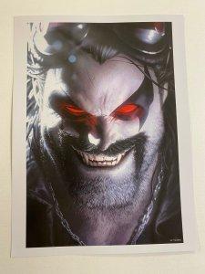 Lobo DC Comics poster by Alex Garner