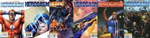 BOYS HEROGASM (2009 DYNAMITE) 1-6  COMPLETE! COMICS BOOK