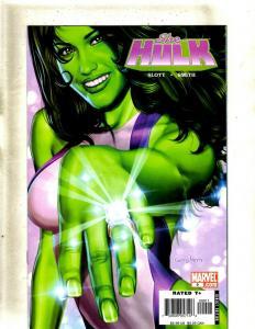 Lot of 9 Comics She-Hulk #9 10 11 14 15 16 17 18, She-Hulk Ceremony #1 HY3