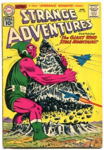 Strange Adventures #129 1961- Atomic Knights- DC Silver Age Sci-fi VG