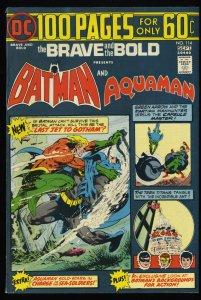 Brave And The Bold #114 VF+ 8.5 Batman Aquaman!
