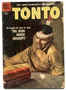 Tonto #26 1957- Dell Western- Lone Ranger's companion FR