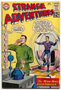 STRANGE ADVENTURES #145 1962- Man Who Lived Forever FN+