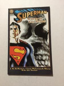 Superman Where Is Thy Sting 1 NM Near Mint