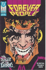 Forever People #3 of 6 (April 1988) - created by Jack Kirby - DC Comics