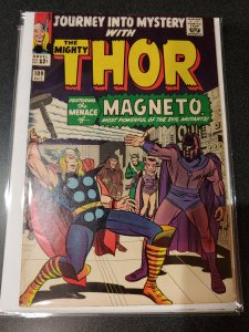 THOR JOURNEY INTO MYSTERY #109 KIRBY CLASSIC MAGNETO high grade vf+
