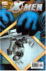 Buffy creator, Joss Whedon's Astonishing X-Men(vol. 3) # 4 A New Enemy,