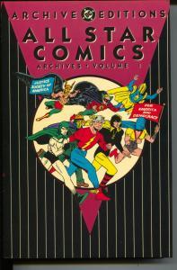 All Star Comics Archives-Vol 1- #3-6-Color Reprints-Hardcover