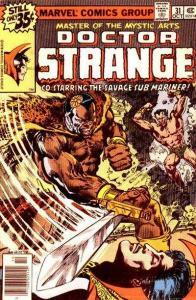 Doctor Strange (1974 series) #31, Good+ (Stock photo)
