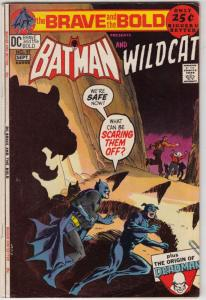 Brave and the Bold, The #97 (Sep-71) VF/NM High-Grade Batman, Wildcat