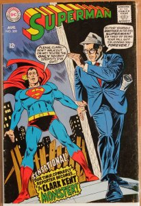 Superman #209 (1968) Very Good++ 4.5 or Better
