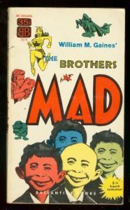 BROTHERS MAD PAPERBACK 1955-WILLIAM GAINES-W WOOD-ELDER FN