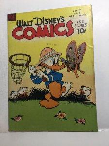 Walt Disney's Comics 94 Gd Good 2.0 Golden Age 1948 Dell Comics