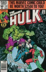 HULK 251-329  20-Different, The Incredible Hulk!