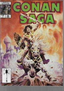 Conan Saga #26 (Marvel, 1989)