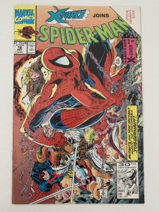 X-Force Joins Spider-Man #16 1991 VF Marvel Special Sideways Issue Comic Book