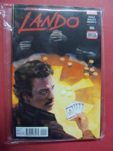 LANDO CALRISSIAN #005 REGULAR COVER NM 9.4 MARVEL 2015 SERIES