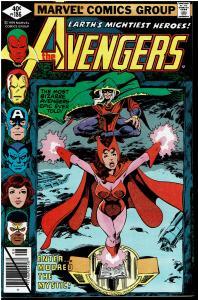 Avengers #186, 9.0 or Better - vs. Mordred the Mystic