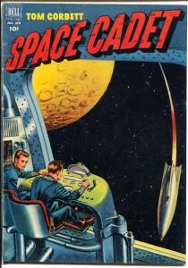 Tom Corbett Space Cadet-Four Color Comics #378 192-Dell-1st issue-TV Series-VG+