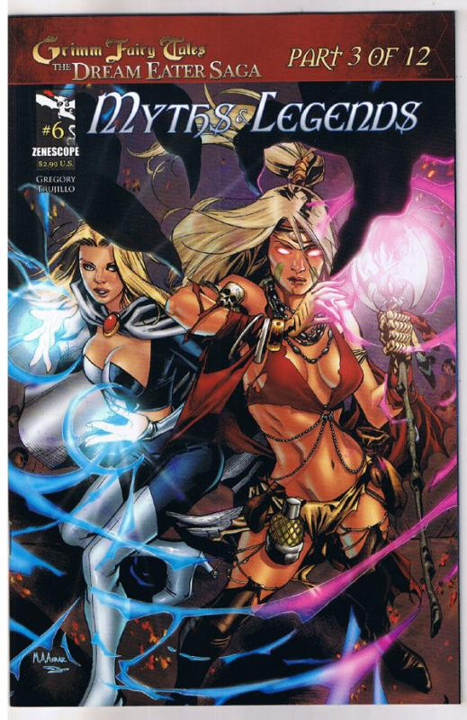 Grimm Fairy Tales Myths /& Legends 23 Cover B or better! NM
