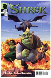 SHREK #1 2 3, NM+, Ogre, Donkey, Dragon, Troll, 1st, 2003, more in store