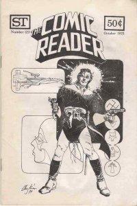 Comic Reader, The #123 VF; Street Enterprises   save on shipping - details insid