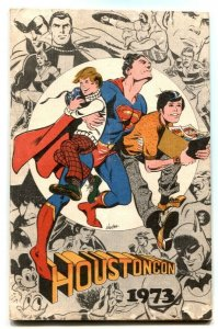 HoustonCon Program Book 1973- Al Williamson-Alan Barbour