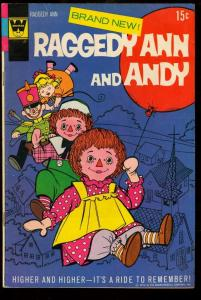 RAGGEDY ANN AND ANDY #1-RARE-WHITMAN VARIANT-1971 FN