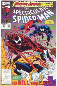 Spider-Man, Peter Parker Spectacular #201 (Jun-93) NM+ Super-High-Grade Spide...