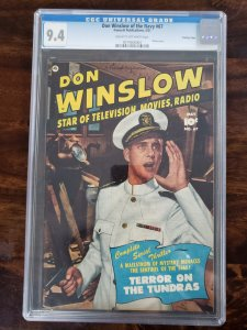 Don Winslow of the Navy 67 CGC 9.4 Crowley Pedigree (Old Pedigree Label)