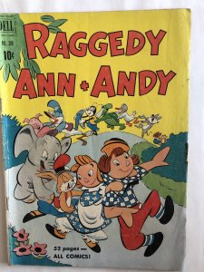 Raggedy Ann Andy. 306,VG, four color