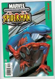 Spider-Man, Ultimate #3 (Jan-01) NM+ Super-High-Grade Spider-Man