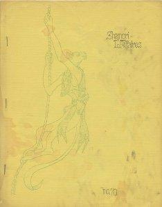 SHANGRI-L'AFFAIRES #70 (LASFS Fanzine, 1965) Rare Zine! Kaiser collection!