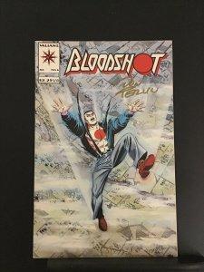 Bloodshot #6 (1993) signed by Don Perlin 1st Colin King (Ninjak)