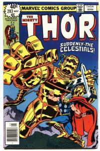 Thor #283 1979 Celestials appear comic book Marvel VF/NM
