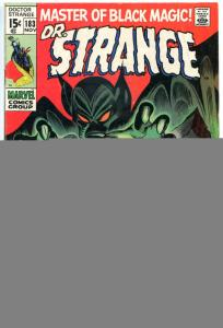 DOCTOR STRANGE #183, FN, Mystic Arts, Gene Colan, 1968, more DS in store